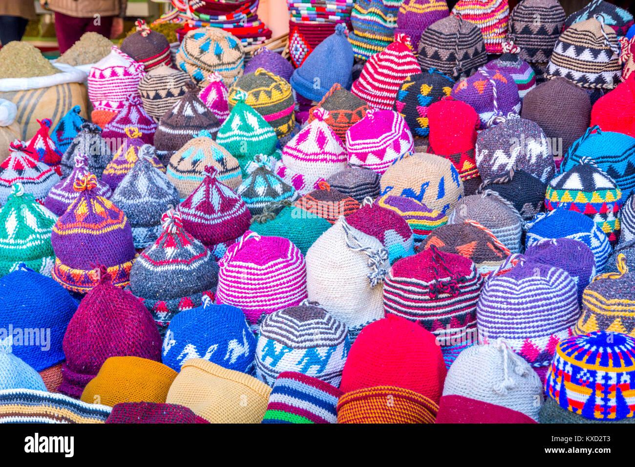 Sombreros De Invierno Imágenes De Stock   Sombreros De Invierno ... 89721c1e984