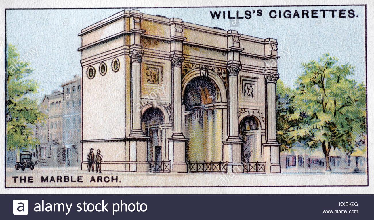 El Marble Arch Londres ilustración Imagen De Stock