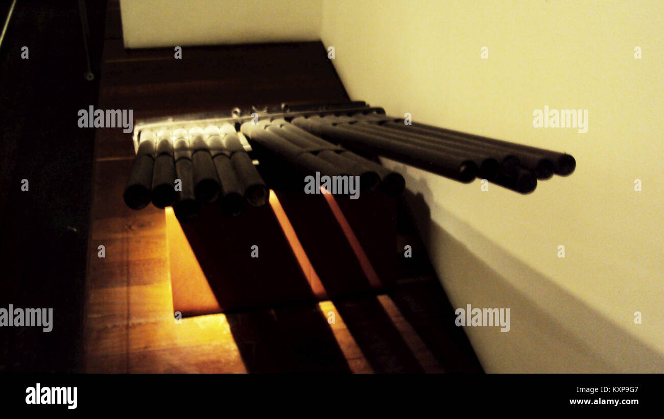 El Museo Nacional - Órgano o ribadoquín Imagen De Stock