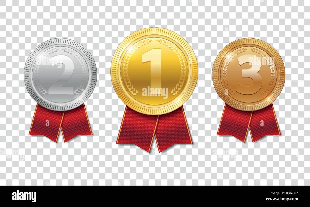 Medal Ribbon Icon Vector Illustration Imágenes De Stock