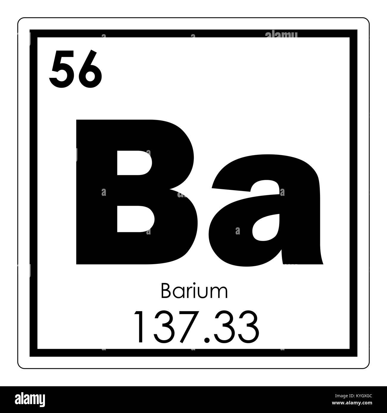 Tabla peridica de elementos qumicos de bario smbolo de ciencia tabla peridica de elementos qumicos de bario smbolo de ciencia urtaz Images