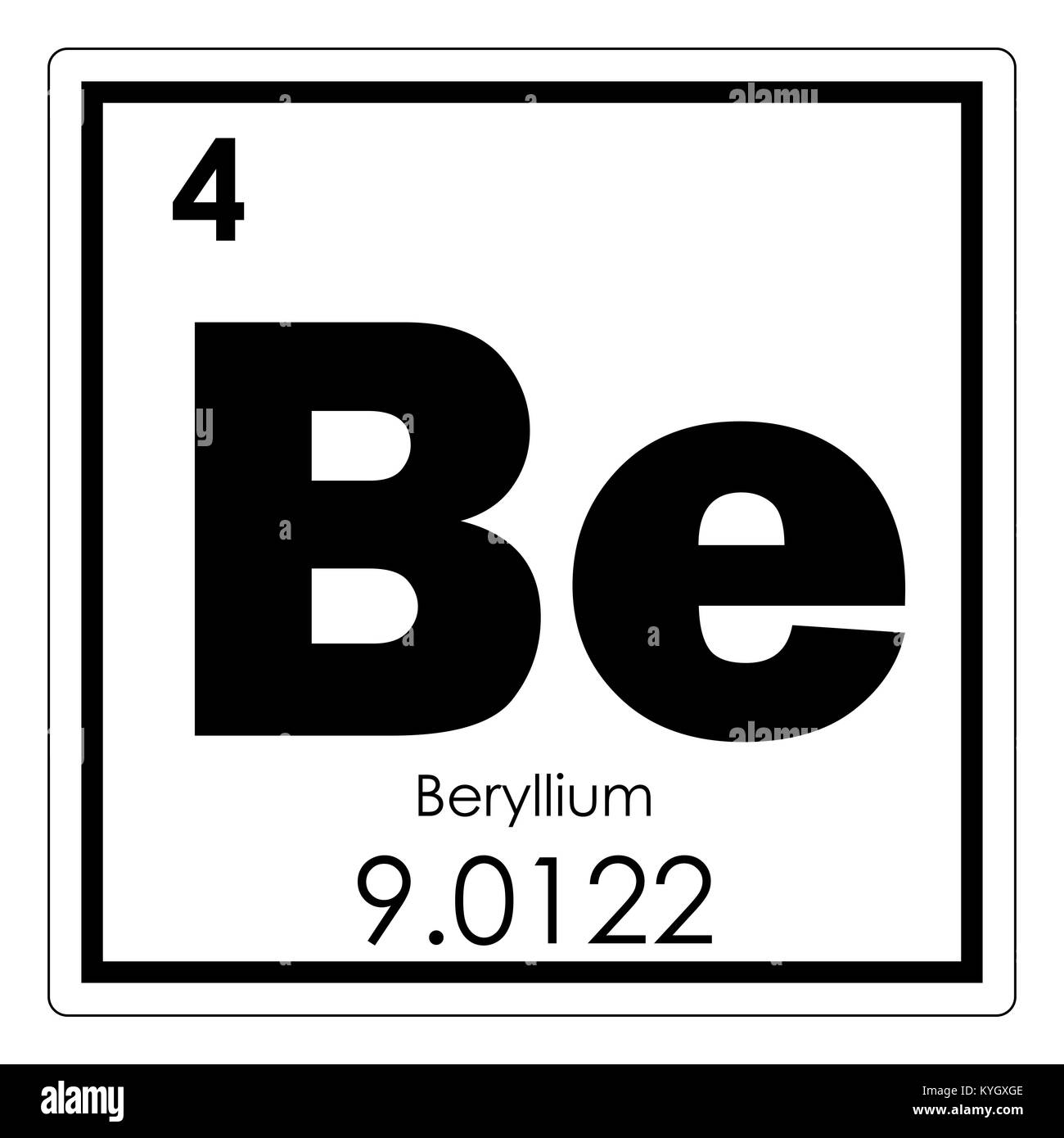 Tabla peridica de elementos qumicos de berilio smbolo de ciencia tabla peridica de elementos qumicos de berilio smbolo de ciencia urtaz Choice Image