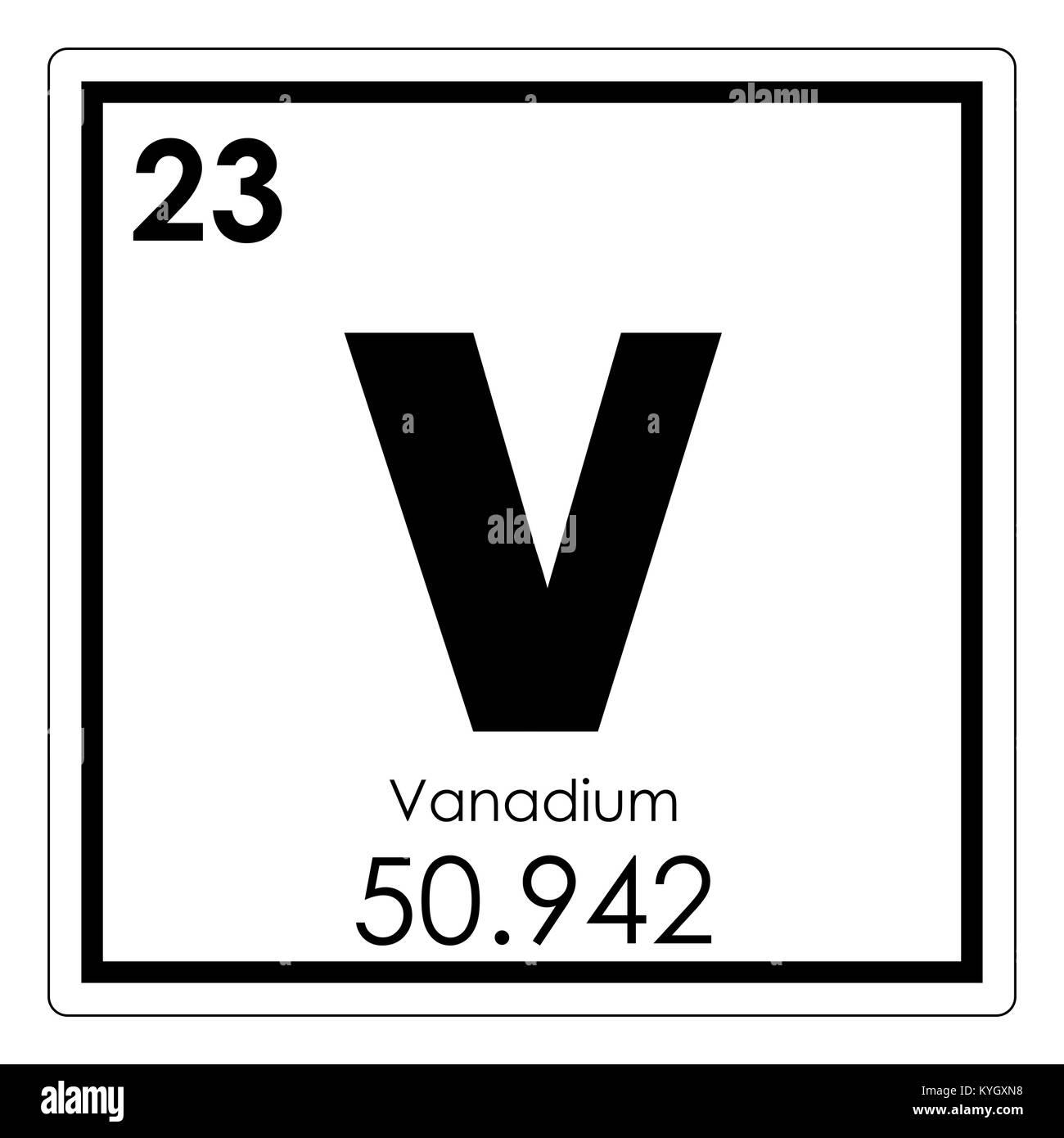 Tabla peridica de elementos qumicos de vanadio smbolo de la tabla peridica de elementos qumicos de vanadio smbolo de la ciencia urtaz Image collections
