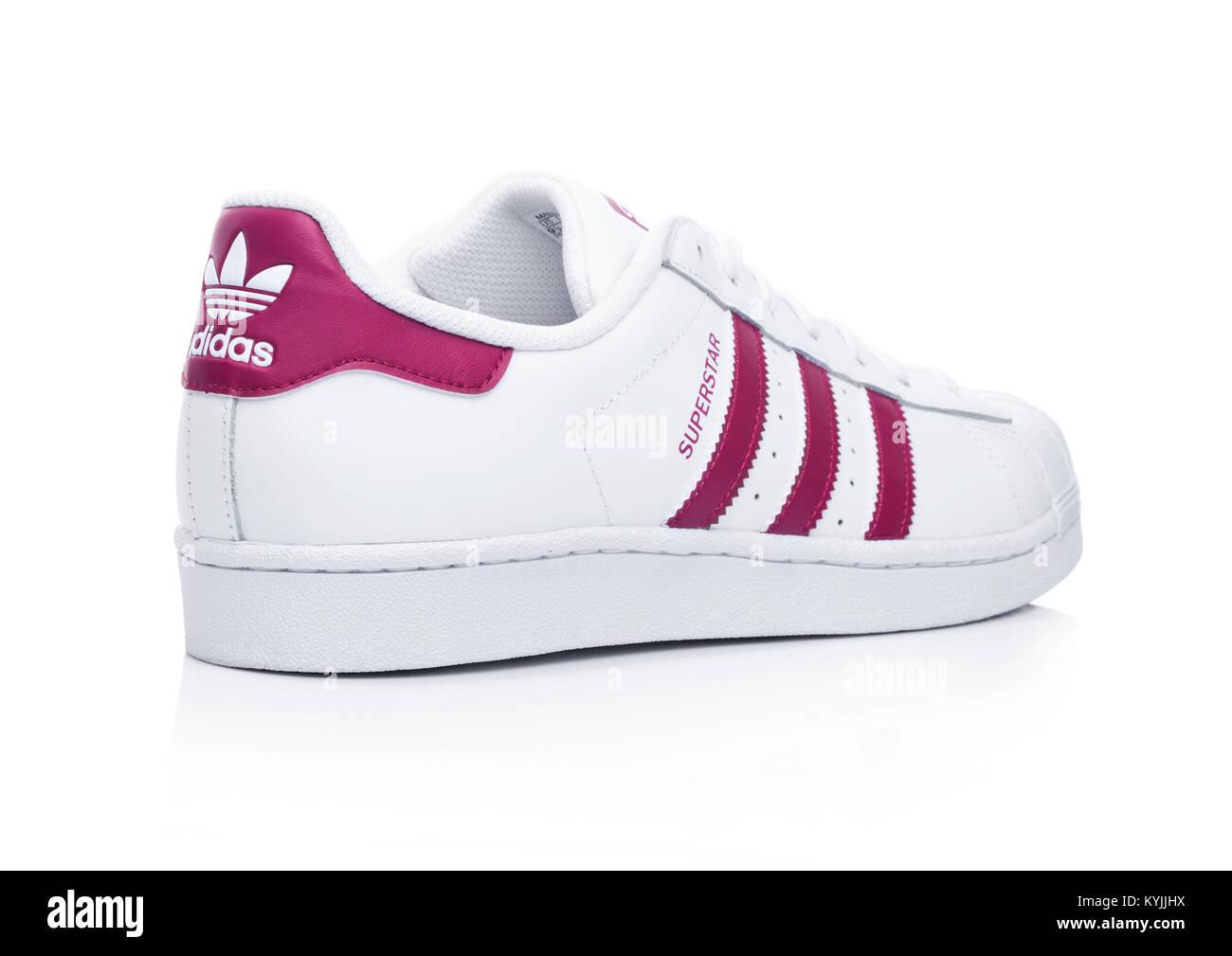 adidas zapatos rojos