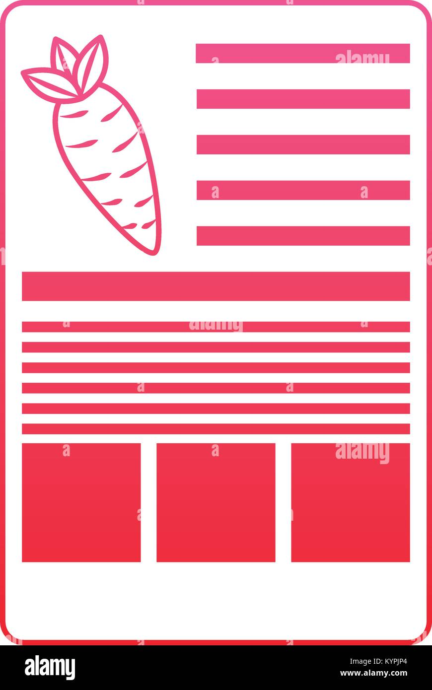 Plantilla De La Etiqueta De Informacion Nutricional De La Zanahoria Imagen Vector De Stock Alamy Información sobre la zanahoria, sus propiedades, sus beneficios, precauciones y la tabla nutricional de la zanahoria. https www alamy es foto plantilla de la etiqueta de informacion nutricional de la zanahoria 171986700 html