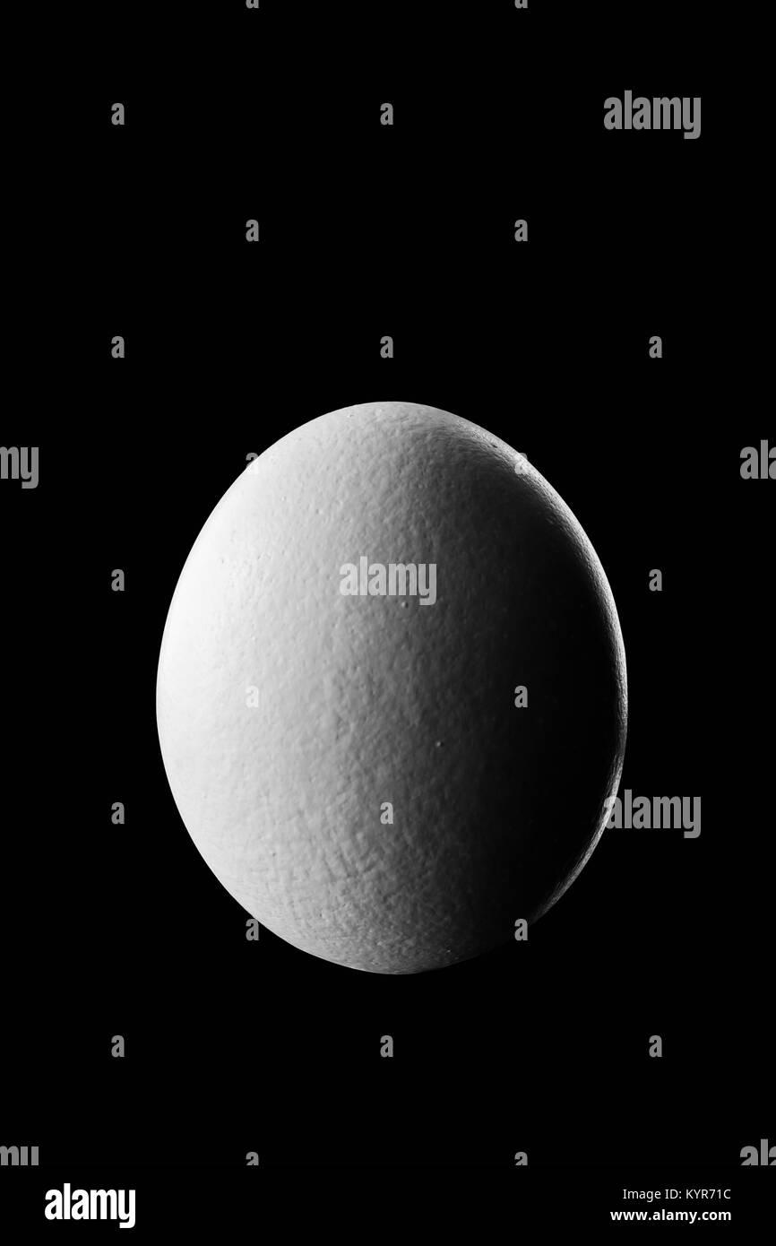 Tercera fase de cuarto de luna show de huevo en la noche con ...