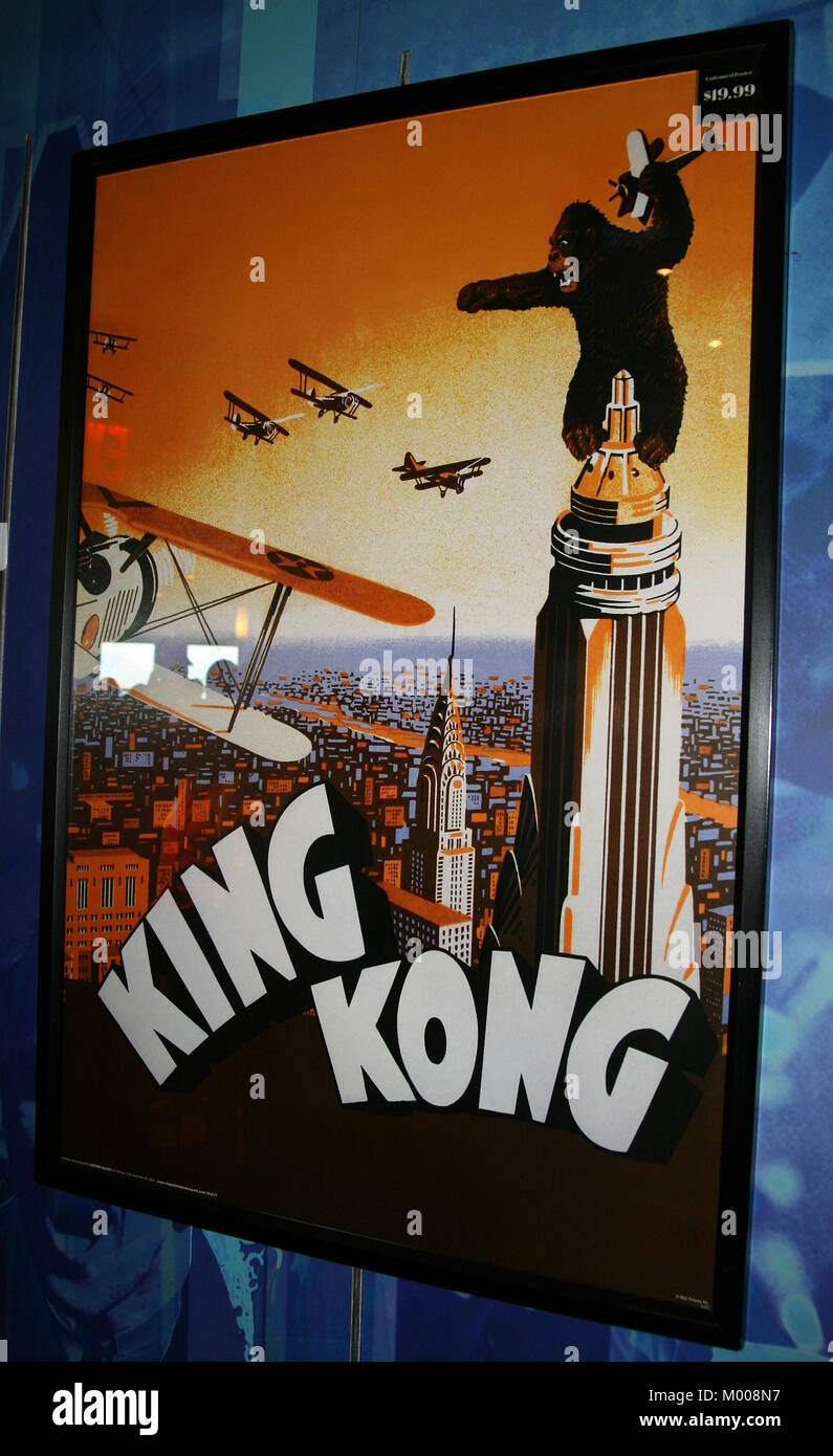 King Kong naranja teatral sin enmarcar cartel para la venta ($19.99 ...
