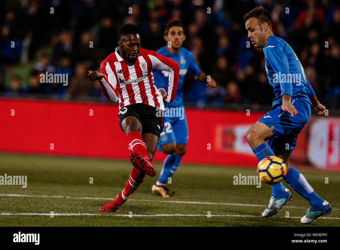 Iñaki Williams (el Athletic Club de Bilbao). La Liga partido entre Getafe CF b1d69cf86404f