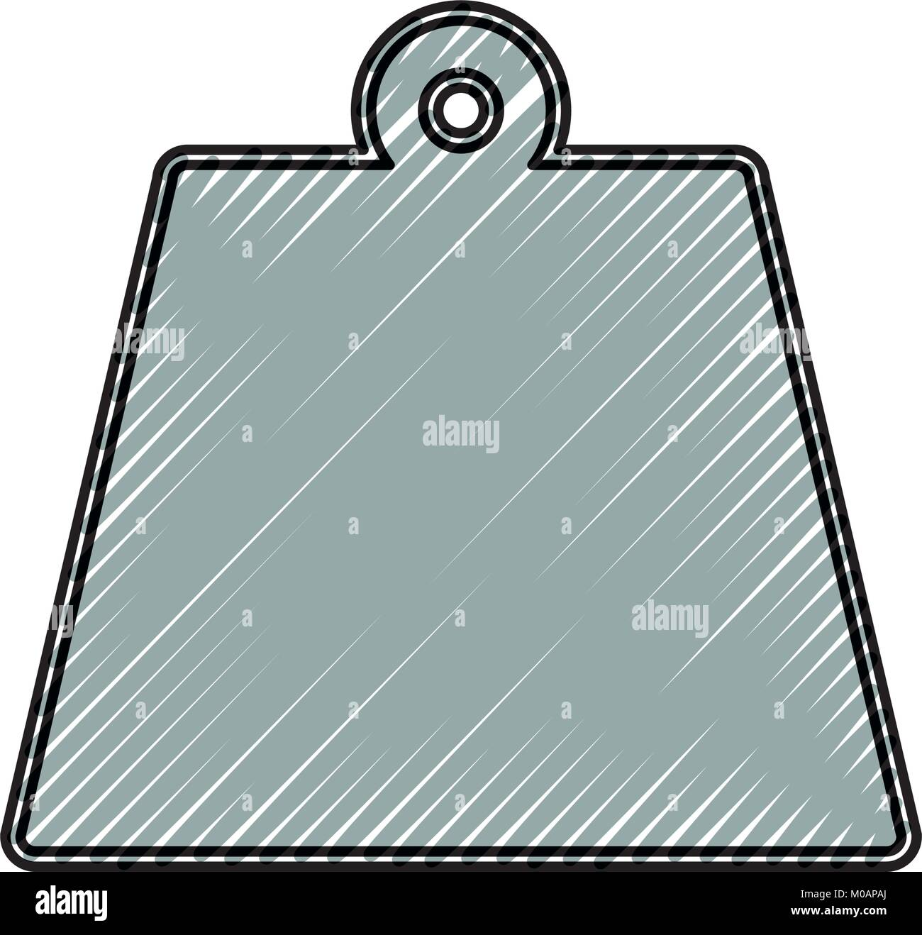 Imagen del icono de peso Imagen De Stock