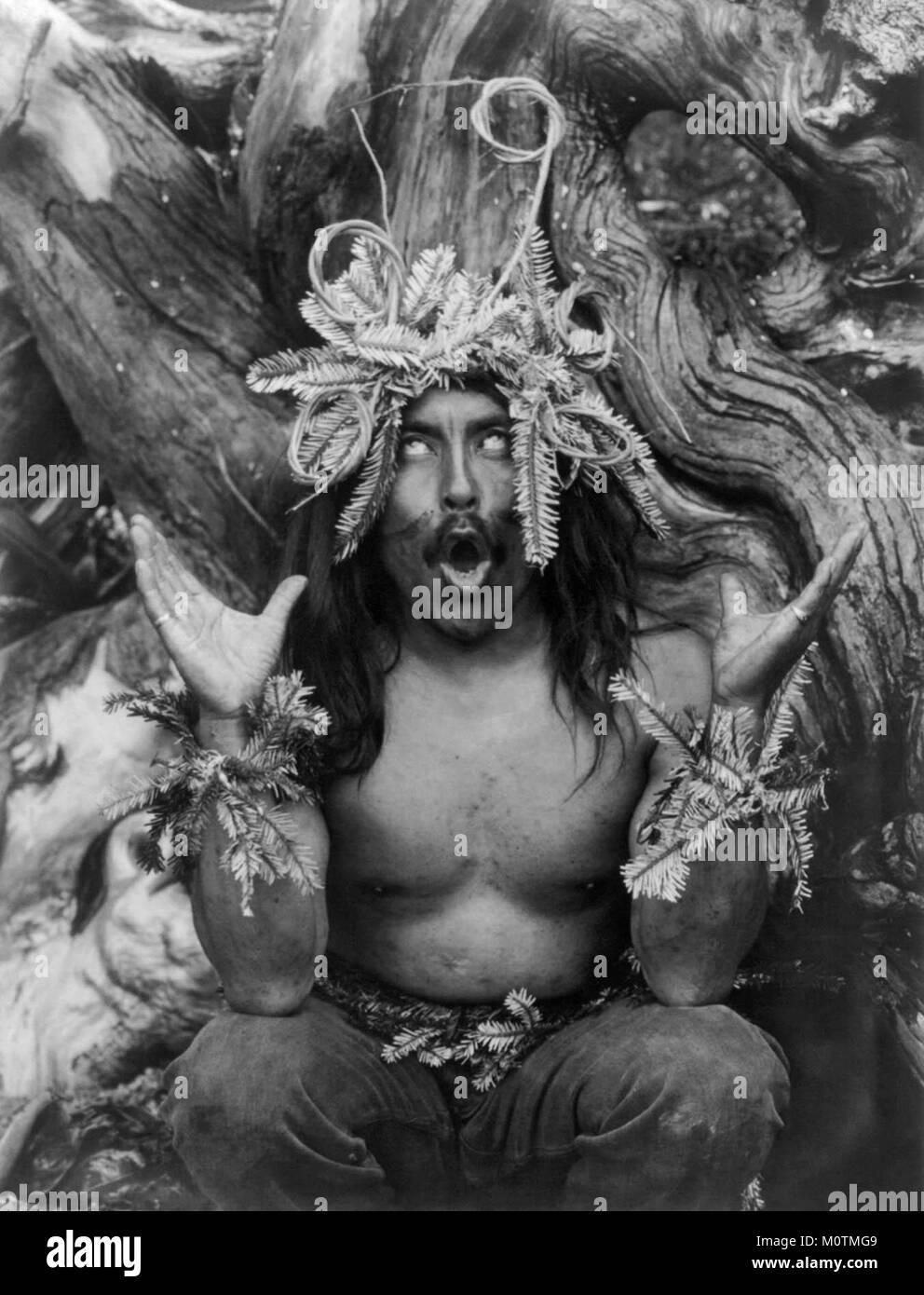 Hamatsa ritualista, 1914 Imagen De Stock