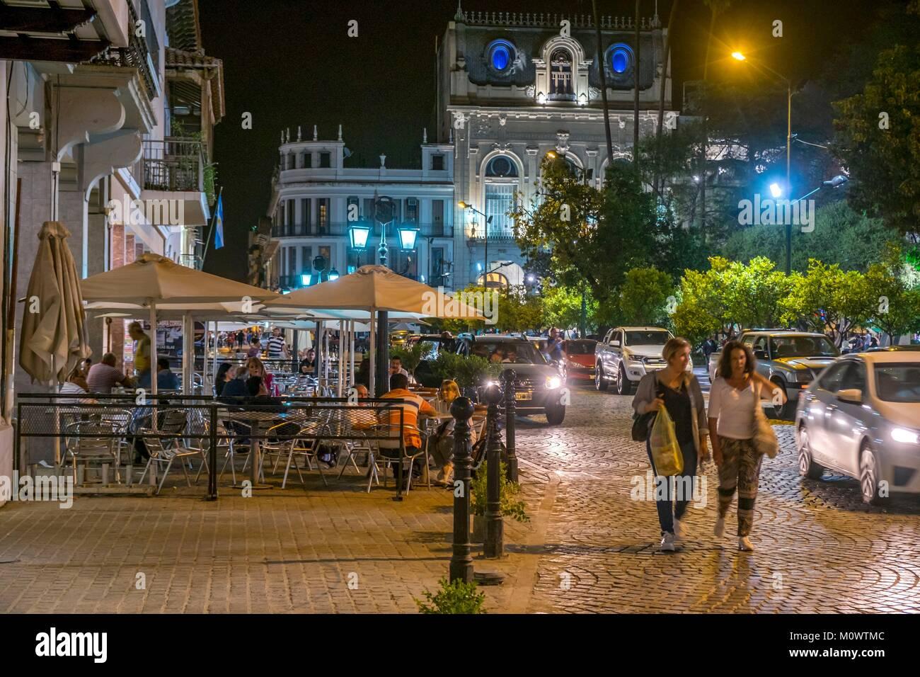 Argentina,Provincia de Salta,SALTA,La Plaza 9 de julio, Imagen De Stock