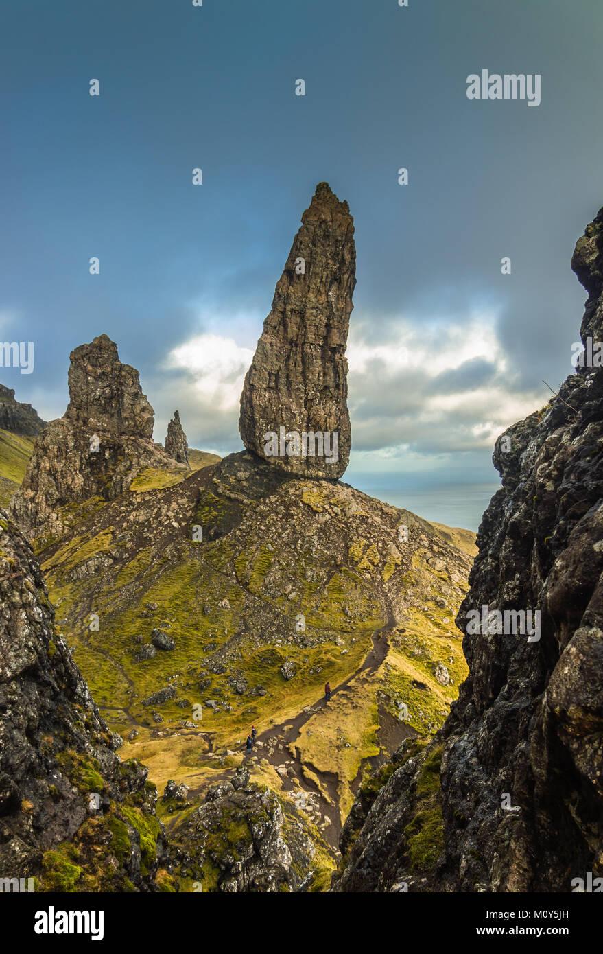 El viejo hombre de Storr, Isla de Skye - Foto de stock