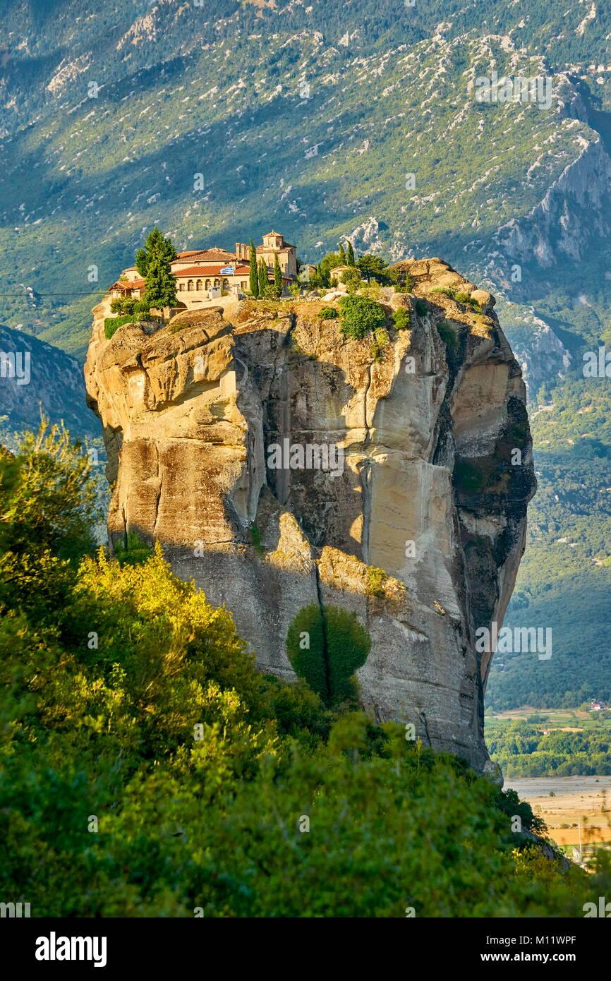 Monasterio de la santísima Trinidad en Meteora, Grecia Imagen De Stock