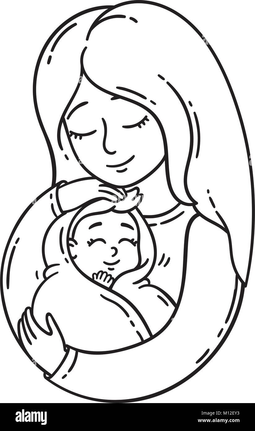 Mom Baby Logo Vector Imágenes De Stock & Mom Baby Logo Vector Fotos ...