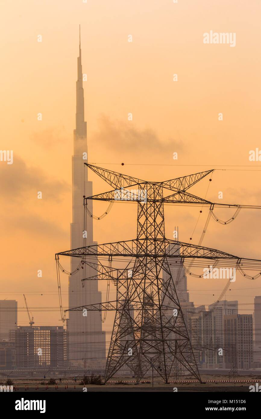 Los Emiratos Árabes Unidos, Dubai Imagen De Stock