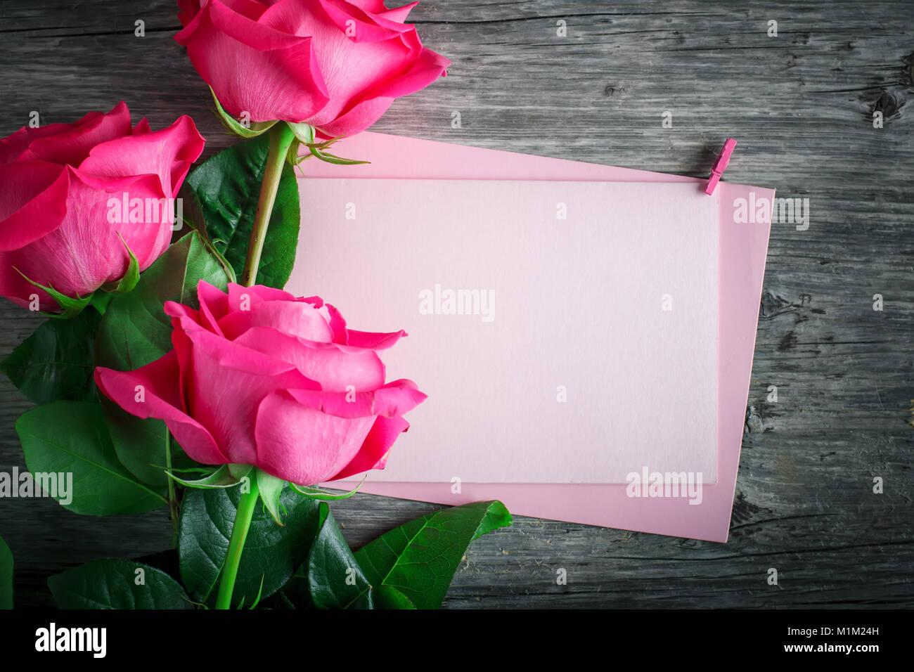 Tarjeta Para El Día De San Valentín, Día De La Madre
