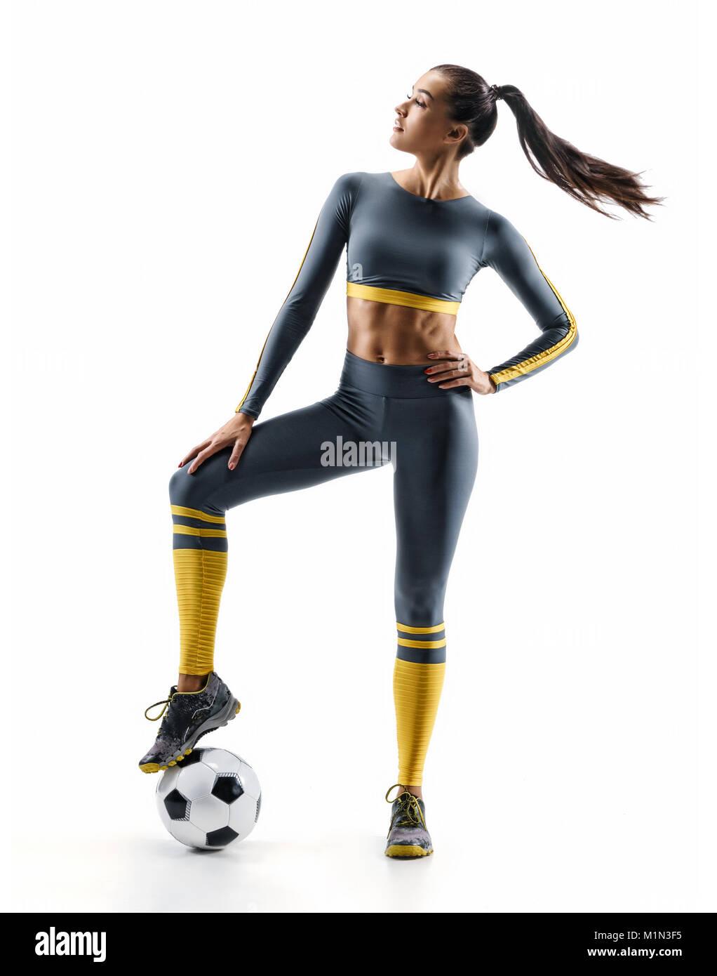 Soccer Uniform Isolated Imágenes De Stock   Soccer Uniform Isolated ... ef6e55e947e2c