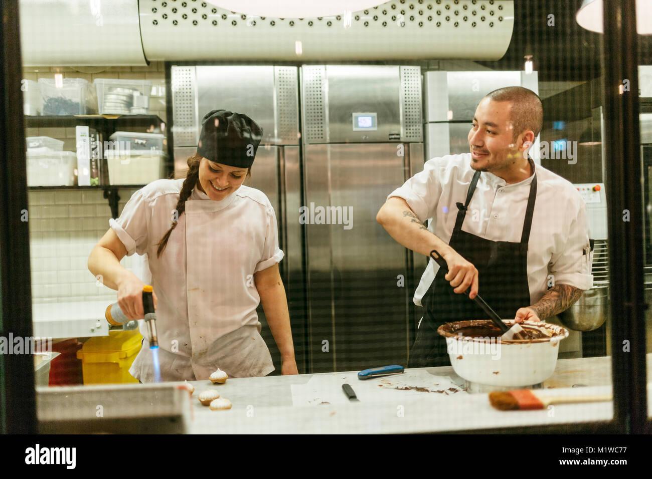 Chefs de cocina Imagen De Stock