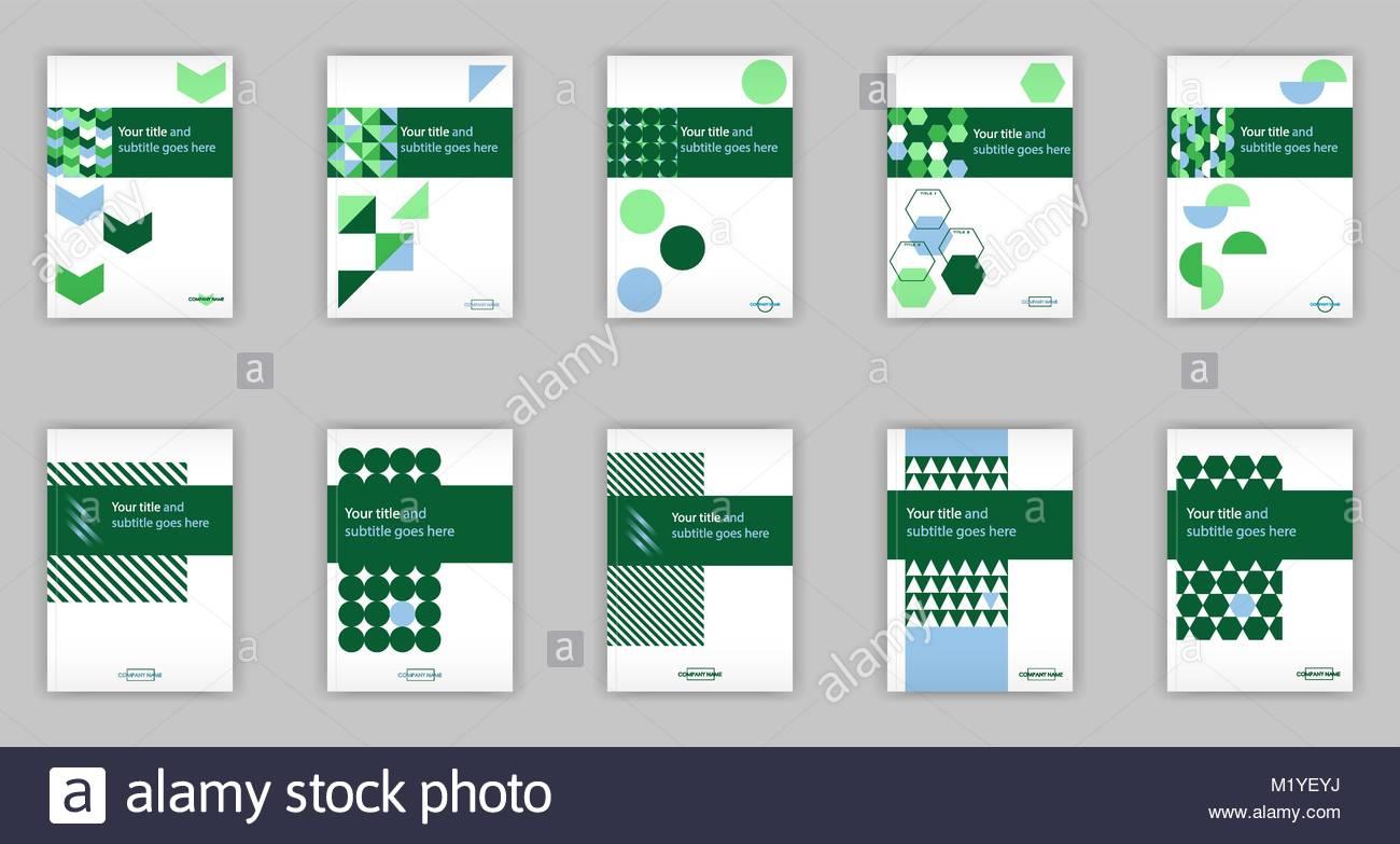 Conjunto de plantillas de diseño de cubierta de banner para web e ...