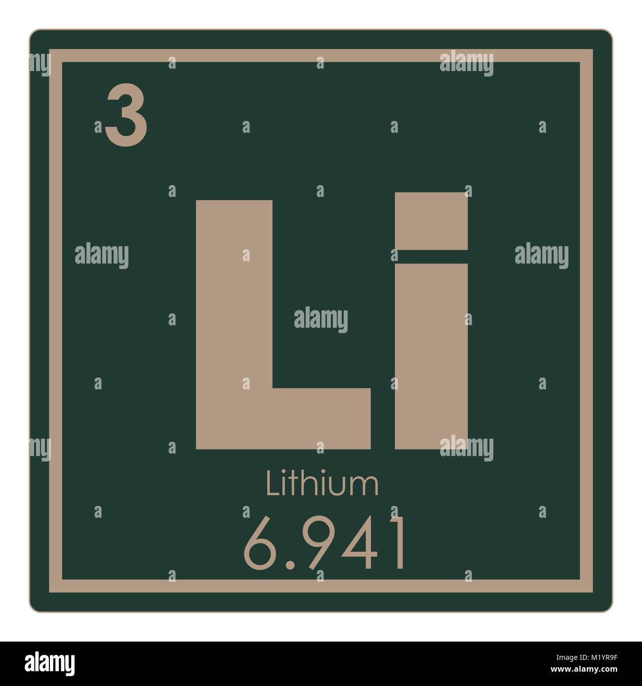 Tabla peridica de elementos qumicos de litio ciencia smbolo foto tabla peridica de elementos qumicos de litio ciencia smbolo urtaz Image collections