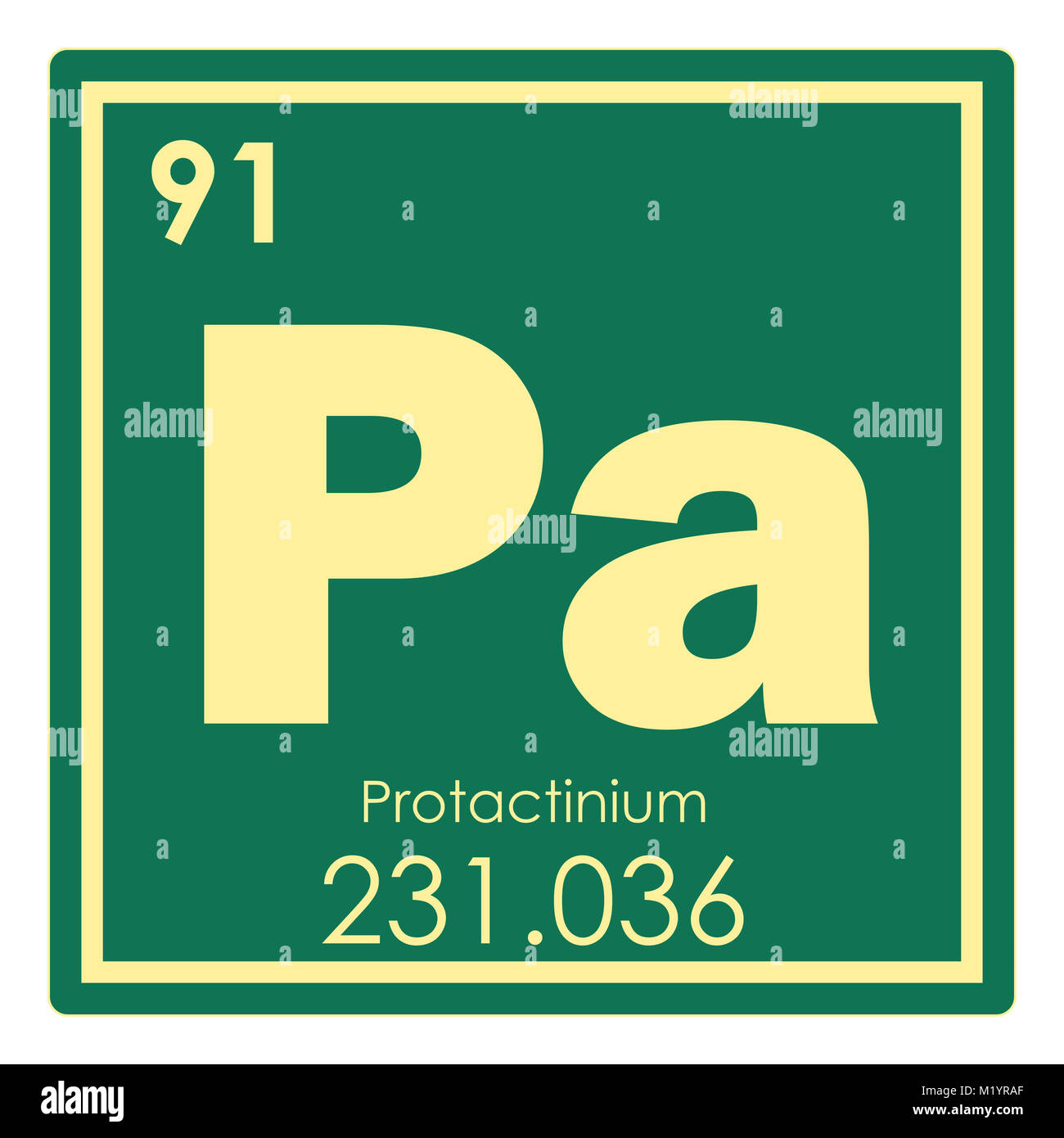 Protactinium imgenes de stock protactinium fotos de stock alamy protactinio elemento qumico tabla peridica ciencia smbolo imagen de stock urtaz Image collections