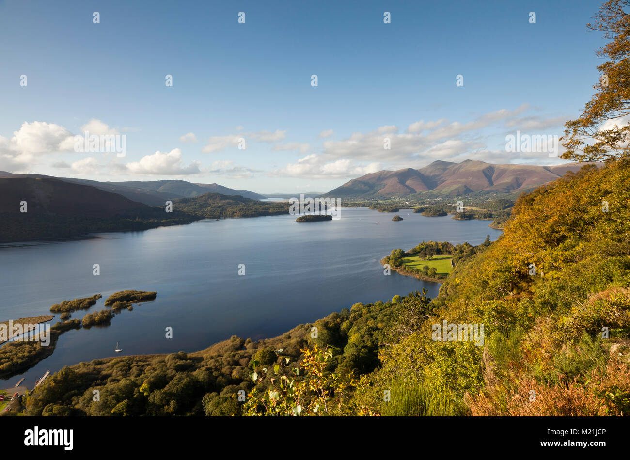 Sorpresa Ver, Lake District UK Imagen De Stock