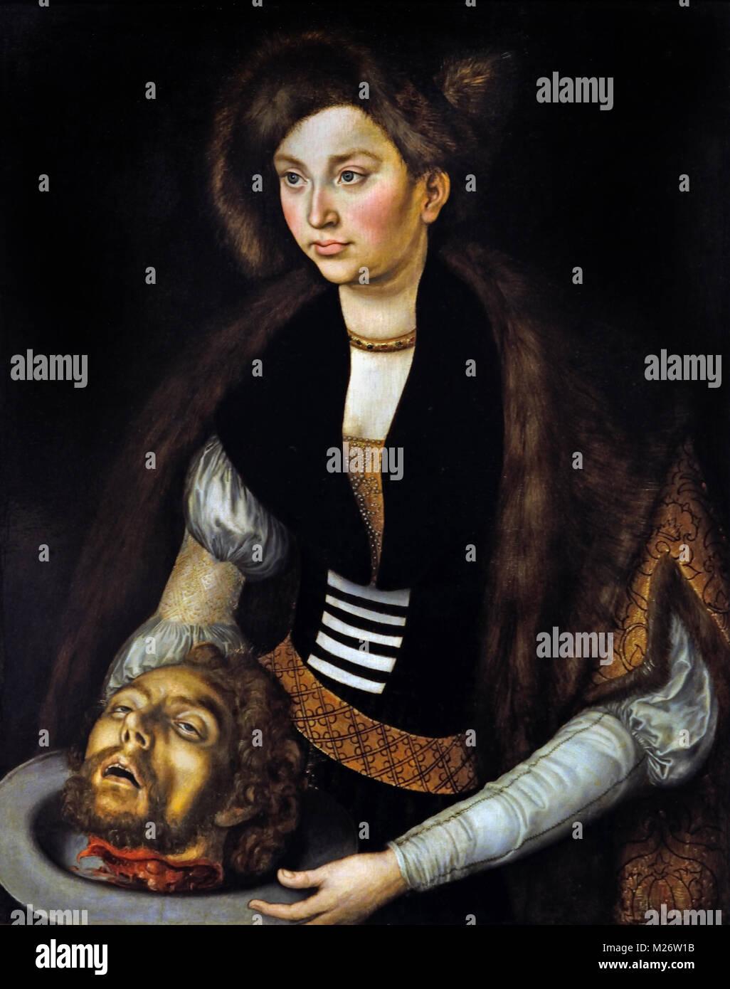 Salomé 16th-century Lucas Cranach (1472-1553) alemán Alemania ...