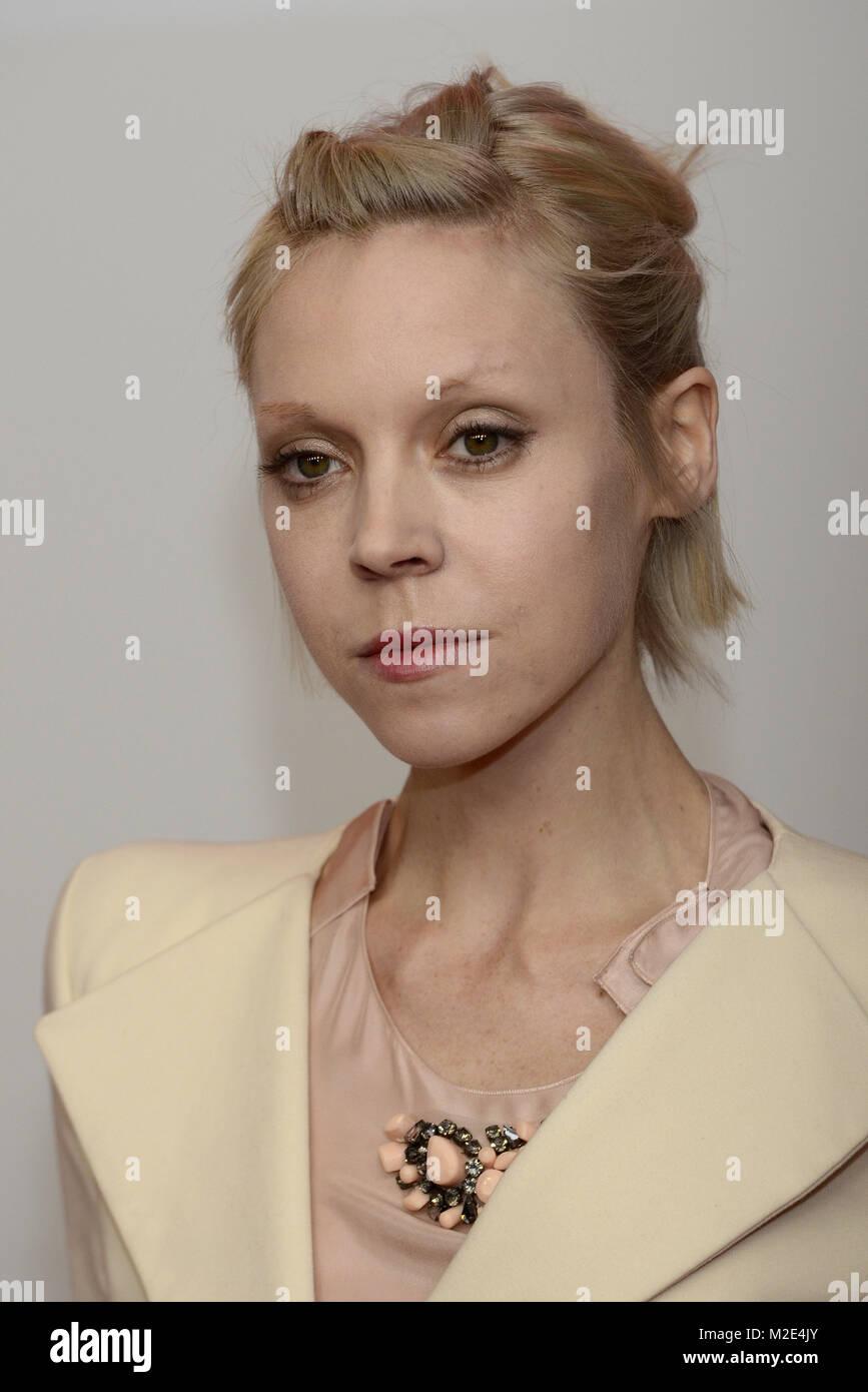 Antonia Campbell Hughes Schauspielerin Bei Der Berlin Premiere Des