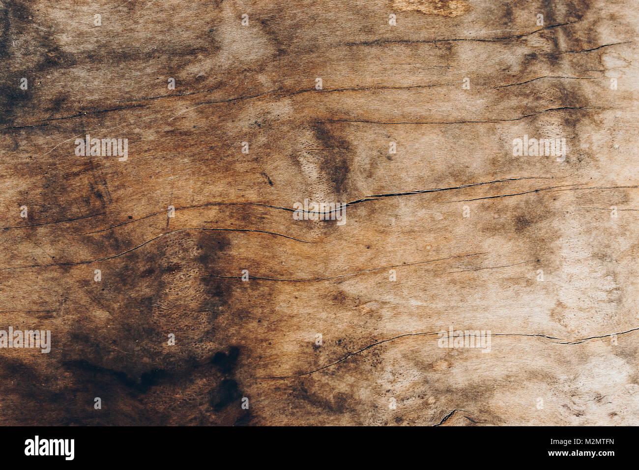 La trama de fondo de textura de madera vieja Foto de stock