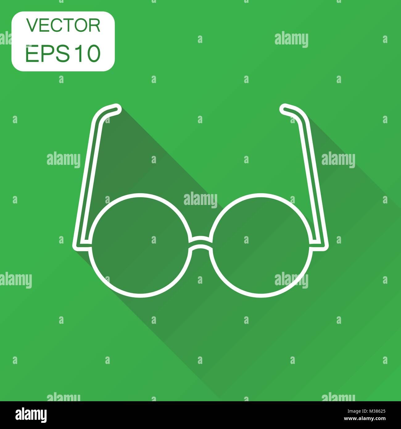 Icono Eyewear De Negocio Pictograma SolConcepto Gafas 31KcFTJl