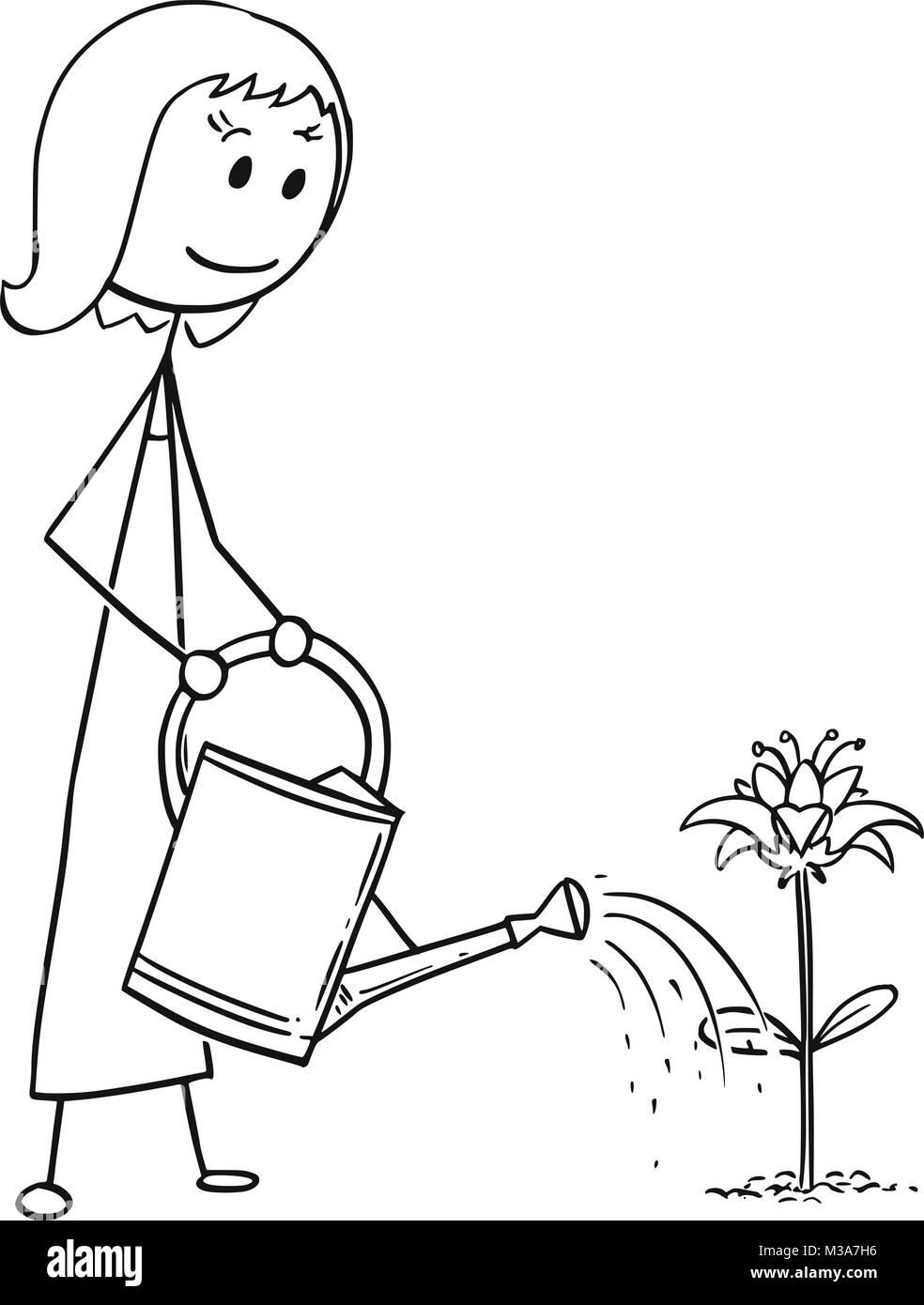 El árbol de Violetta. - Página 3 Caricatura-de-mujer-jardinero-regando-plantas-flor-m3a7h6