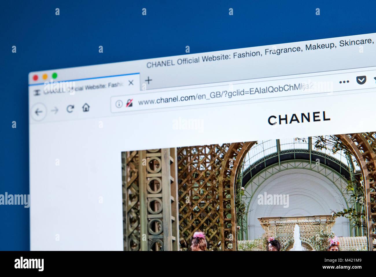 498ee259b Chanel Logo Imágenes De Stock & Chanel Logo Fotos De Stock - Página ...