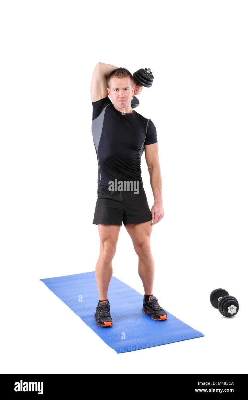 Triceps Extension Imágenes De Stock & Triceps Extension Fotos De ...