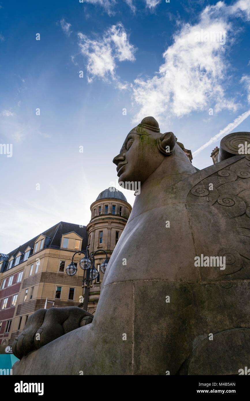 Escenas de la ciudad de Birmingham, Reino Unido Imagen De Stock