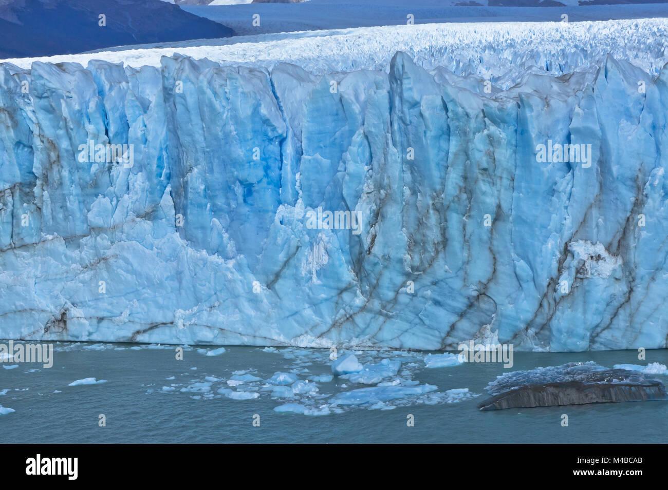 Azul Glaciar, Patagonia, Argentina, Sudamérica Imagen De Stock