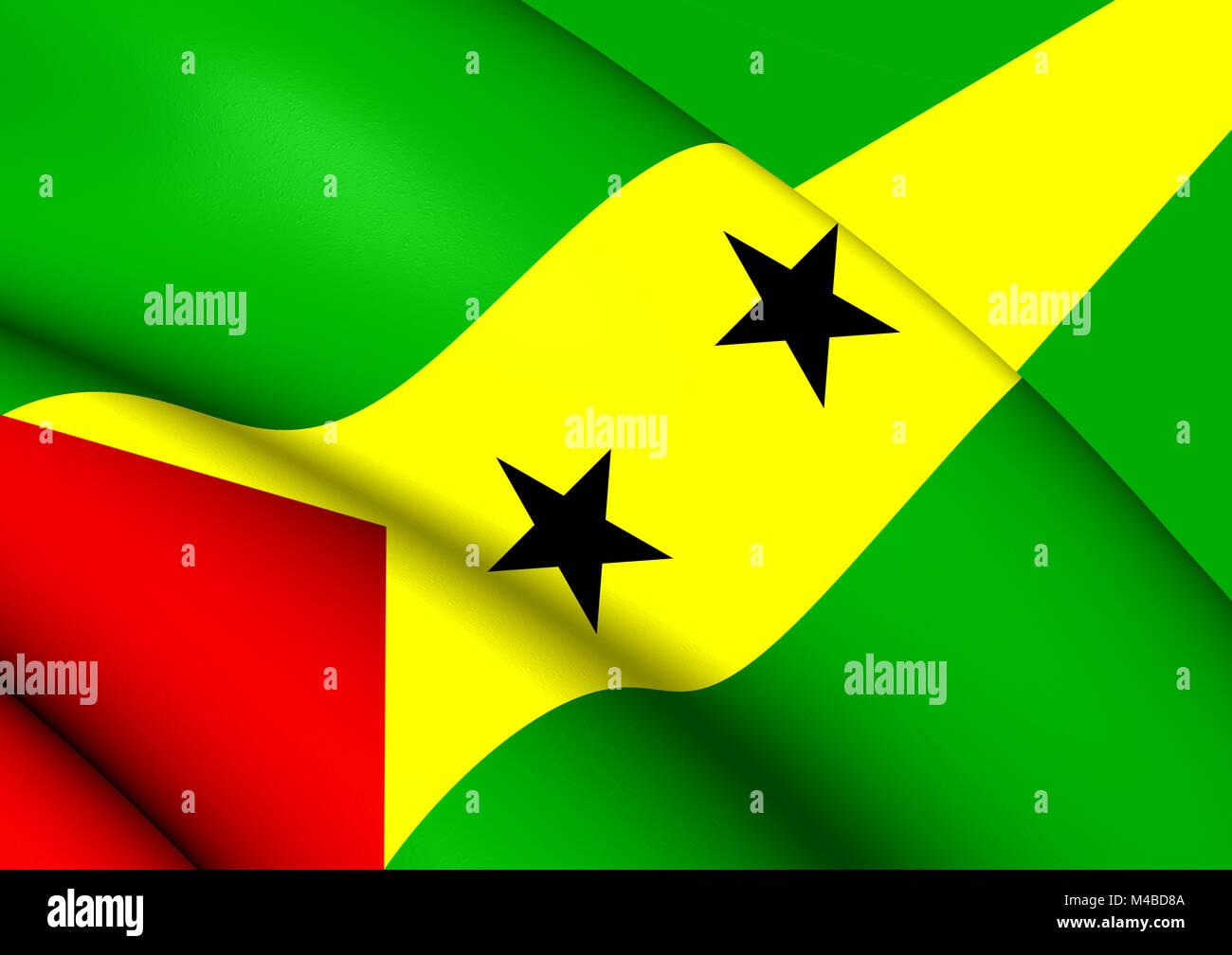 Bandera De Santo Tome Y Principe Foto Imagen De Stock 174814202