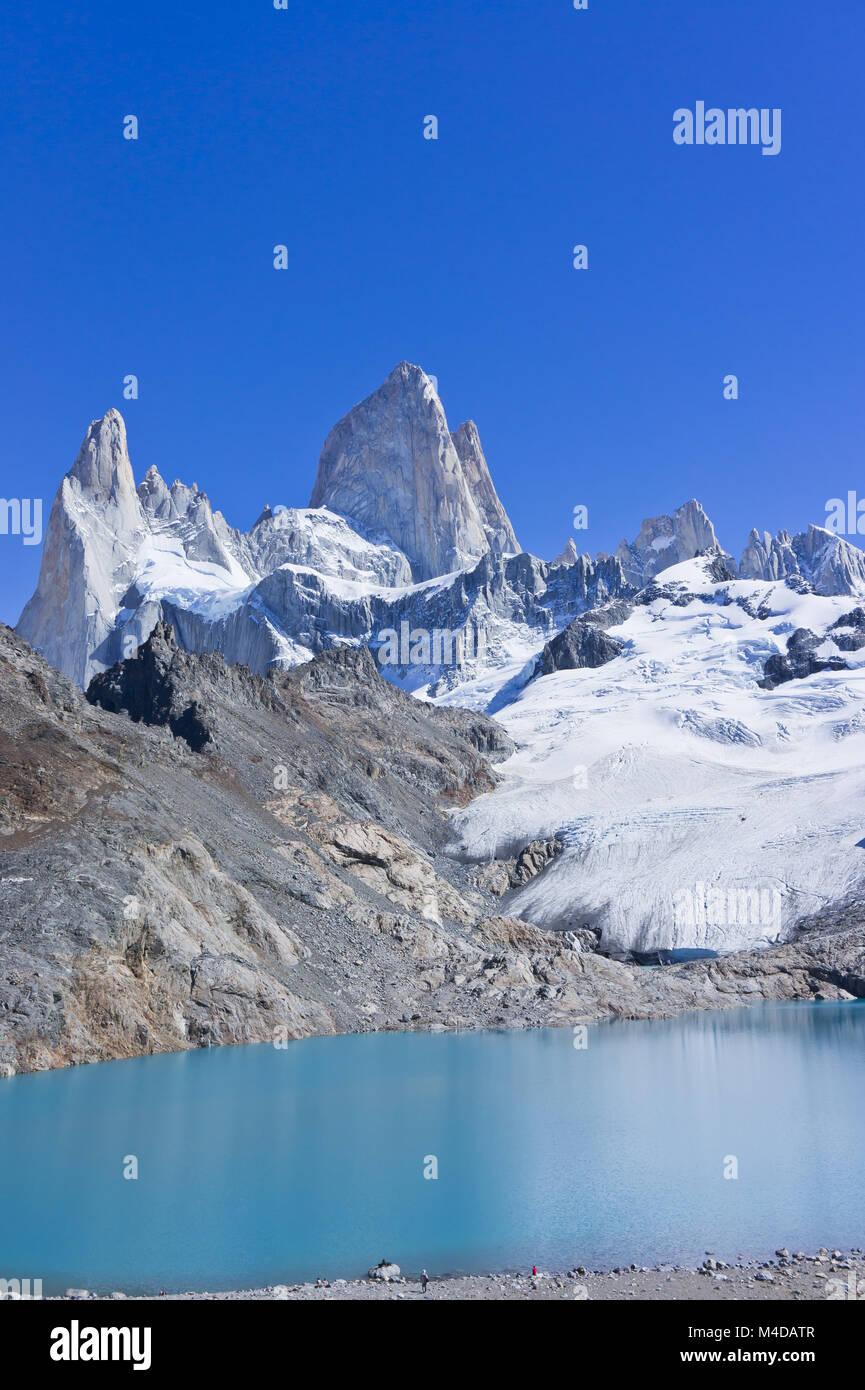 Monte Fitz Roy, Patagonia, Argentina, Sudamérica Imagen De Stock