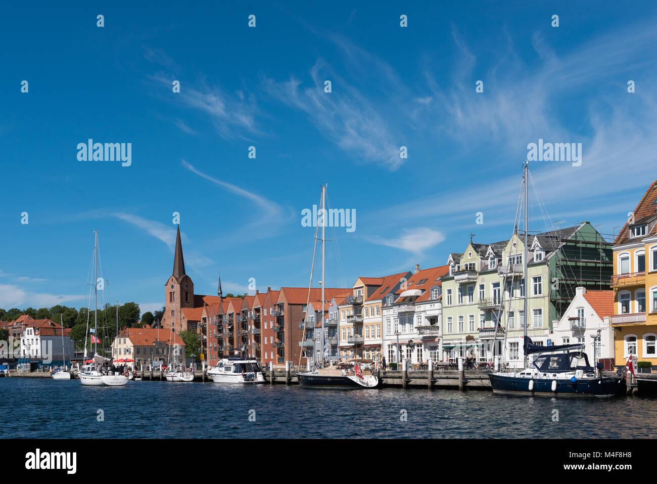 Danmark Sonderbourg Foto de stock
