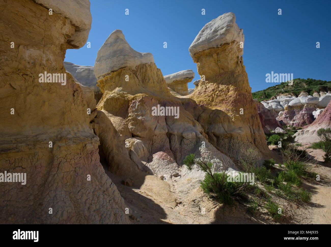 Pintura de Minas de Colorado Imagen De Stock