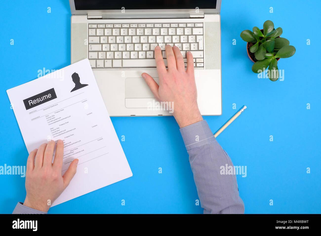 Work Application Imágenes De Stock & Work Application Fotos De Stock ...