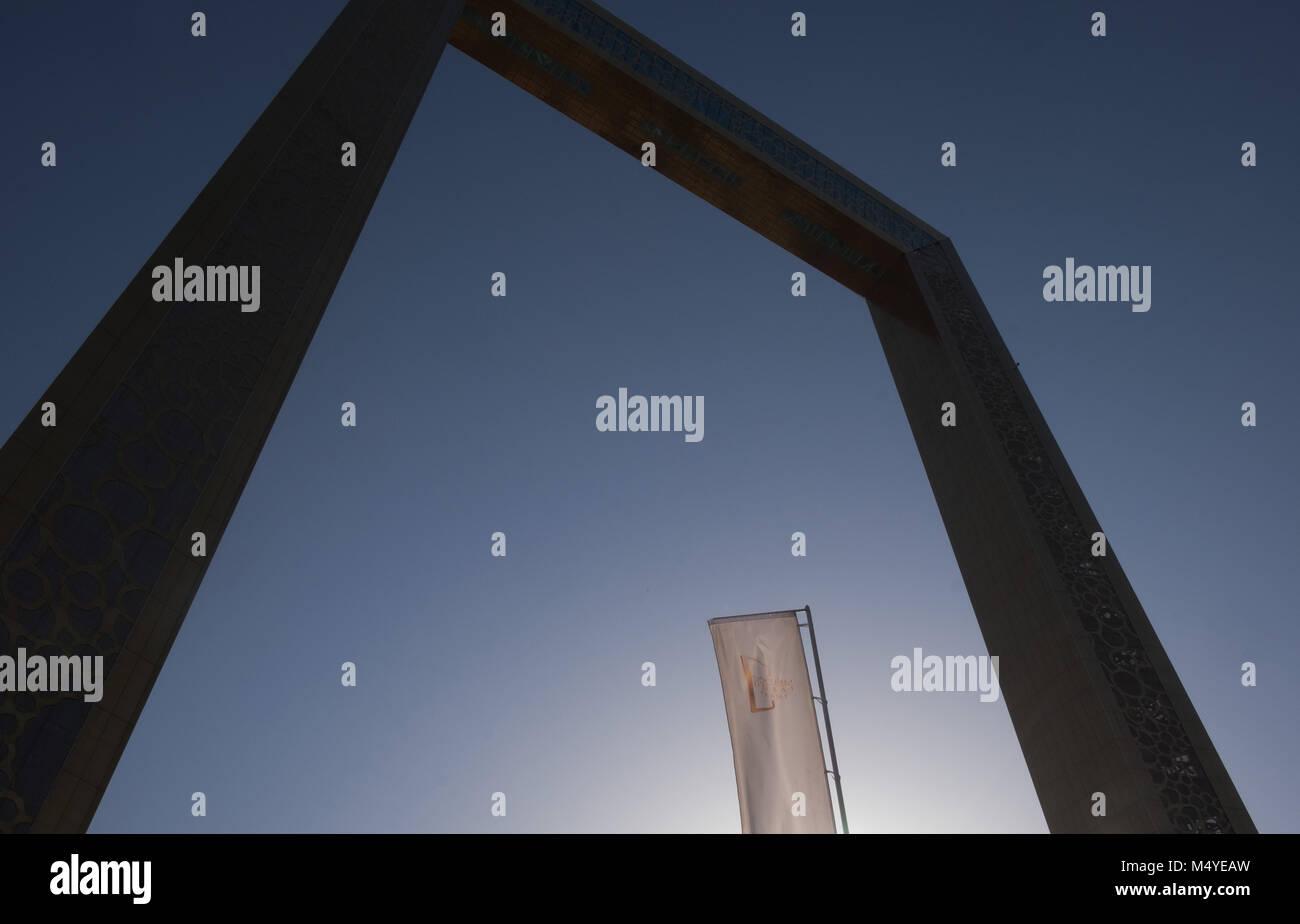 El marco histórico de Dubai Foto & Imagen De Stock: 175166289 - Alamy