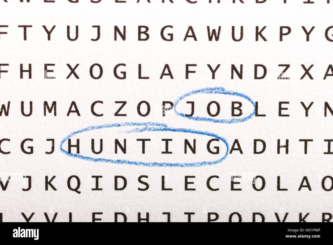 Job Hunting Imágenes De Stock & Job Hunting Fotos De Stock - Alamy