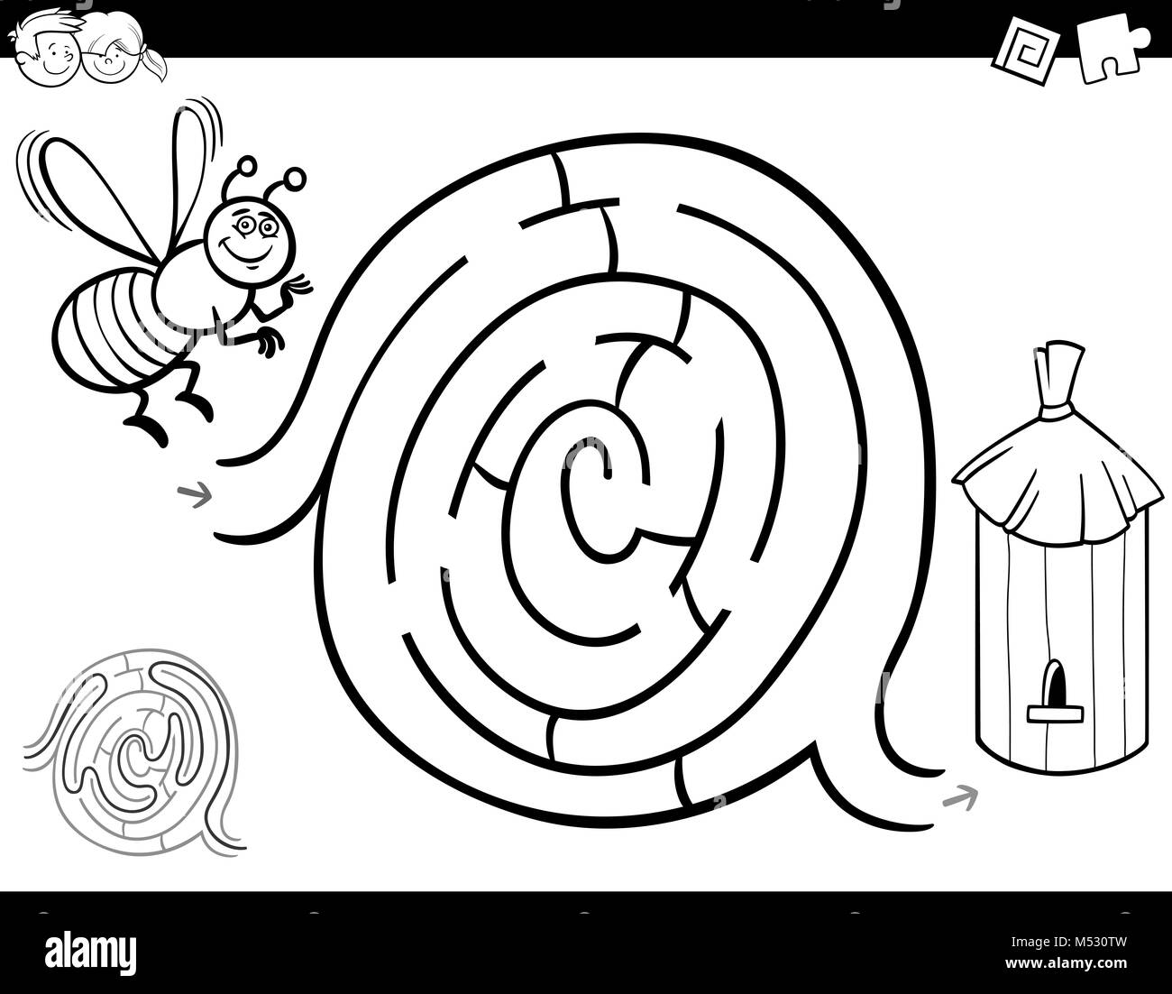 Fantástico Libro Para Colorear Blockhead Ideas - Enmarcado Para ...