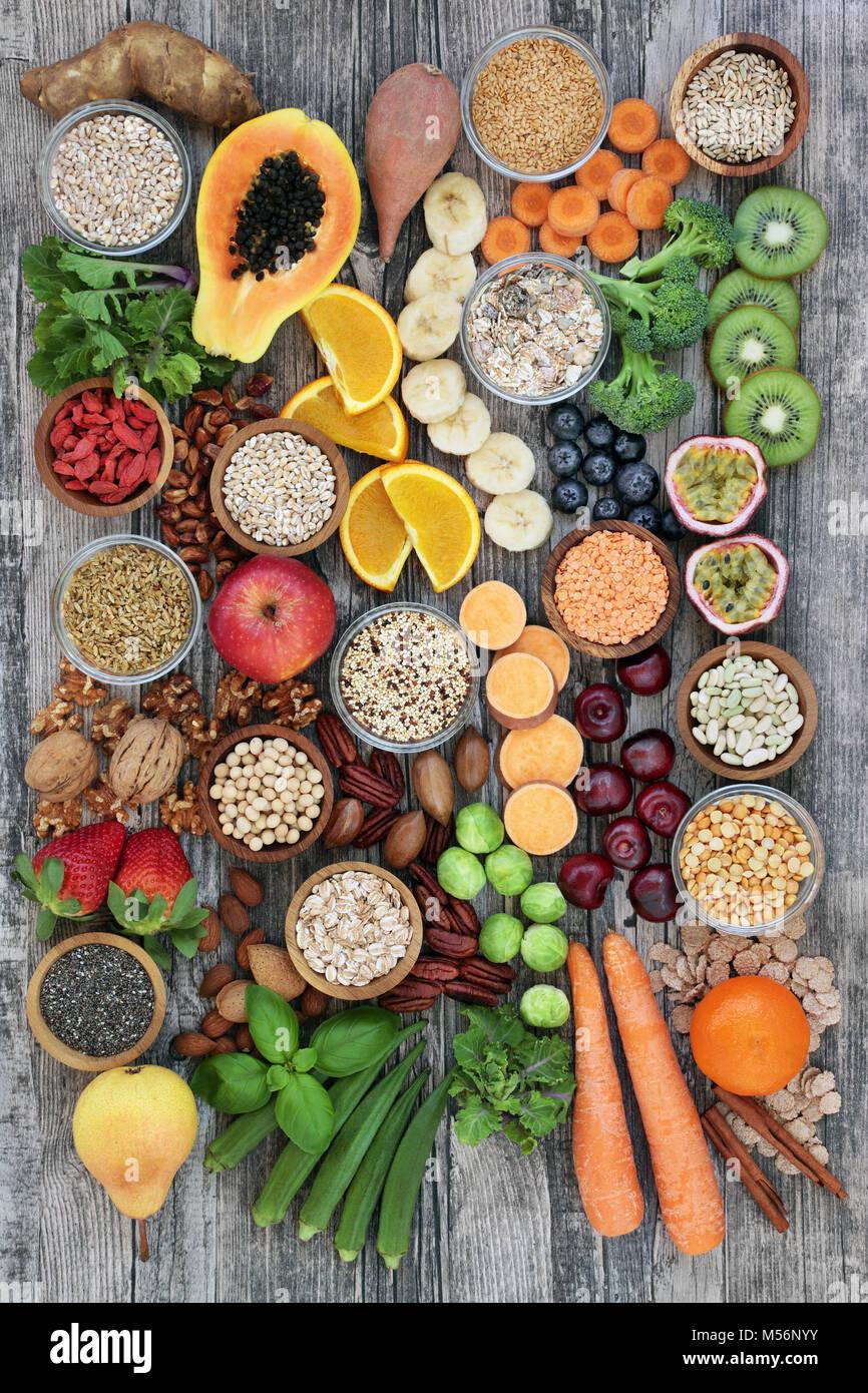 Fibra de alta calidad s per alimento saludable con frutas for Semillas de frutas y verduras
