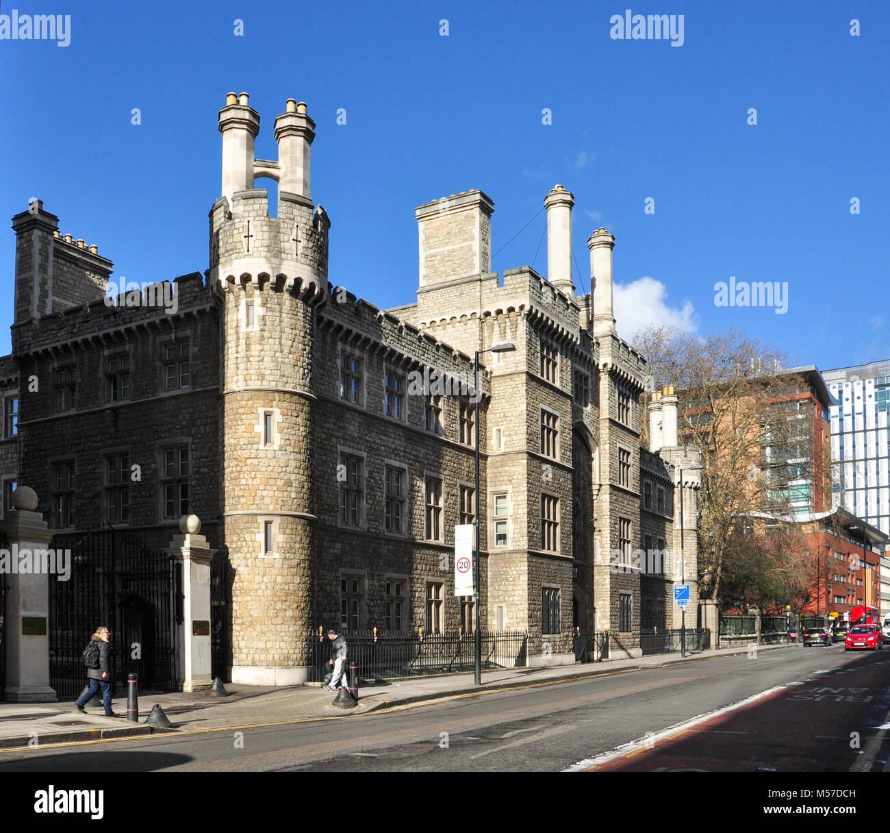 La Honorable Compañía de artillería, Finsbury Barracas, City Road, Londres, Inglaterra, Reino Unido. Imagen De Stock
