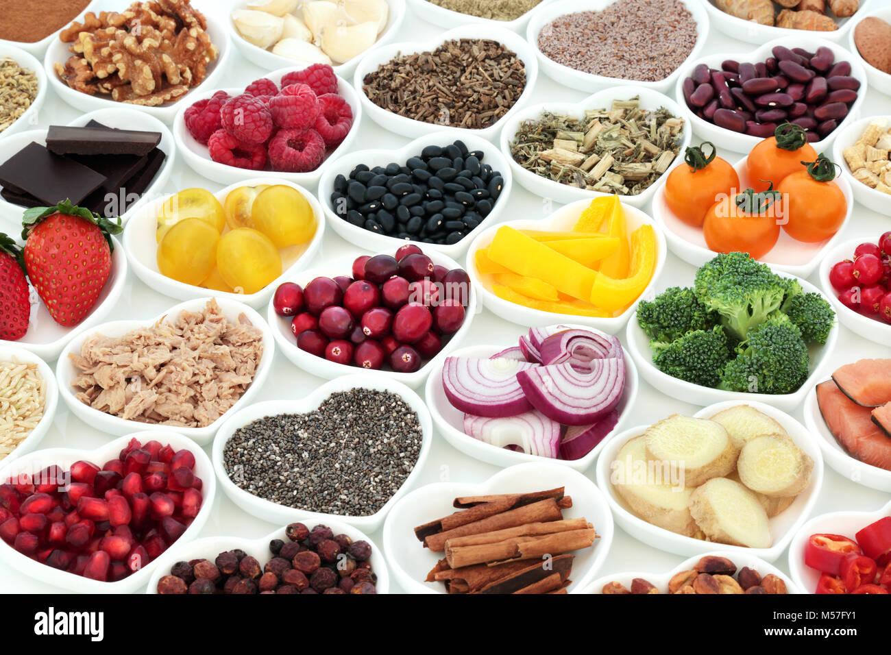 Nutrici n para un coraz n saludable con verduras frescas for Semillas de frutas y verduras