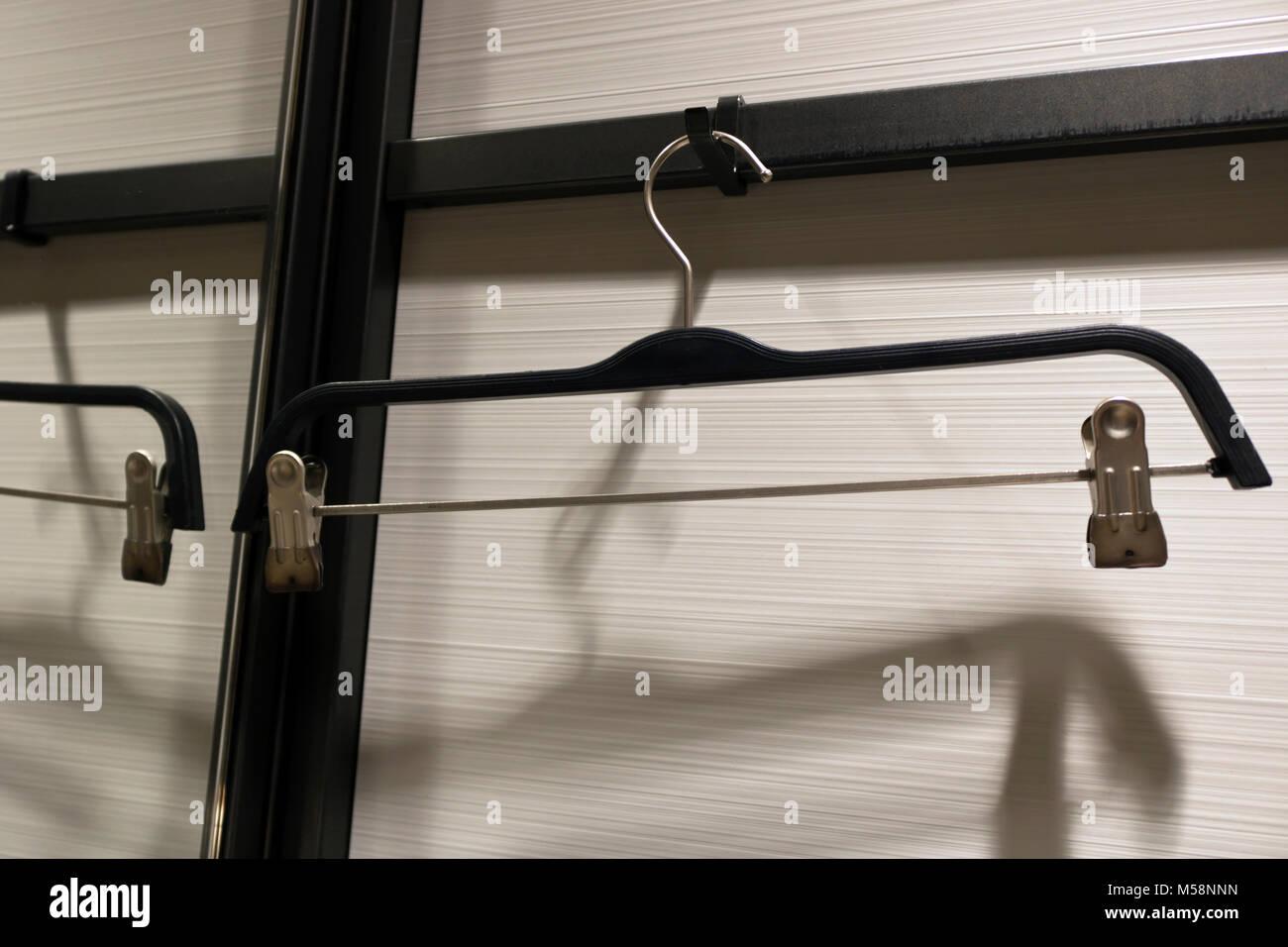 Colgador de ropa Foto de stock