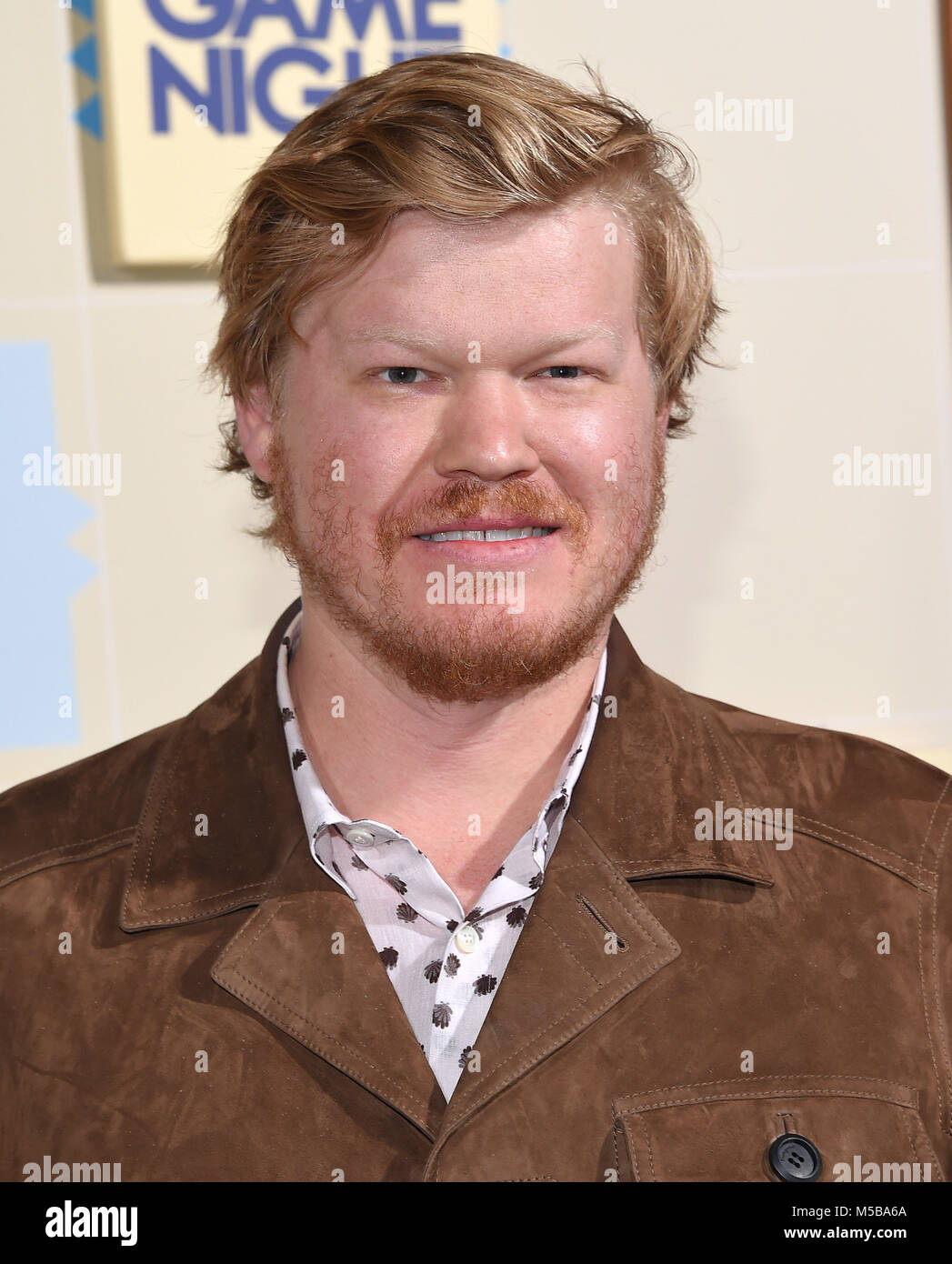 Hollywood California Usa 21 Feb 2018 Jesse Plemons Llega Para
