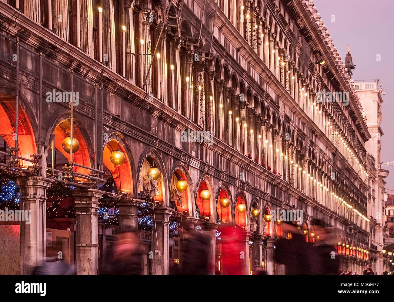 La Piazza San Marco, Venecia, Italia Imagen De Stock