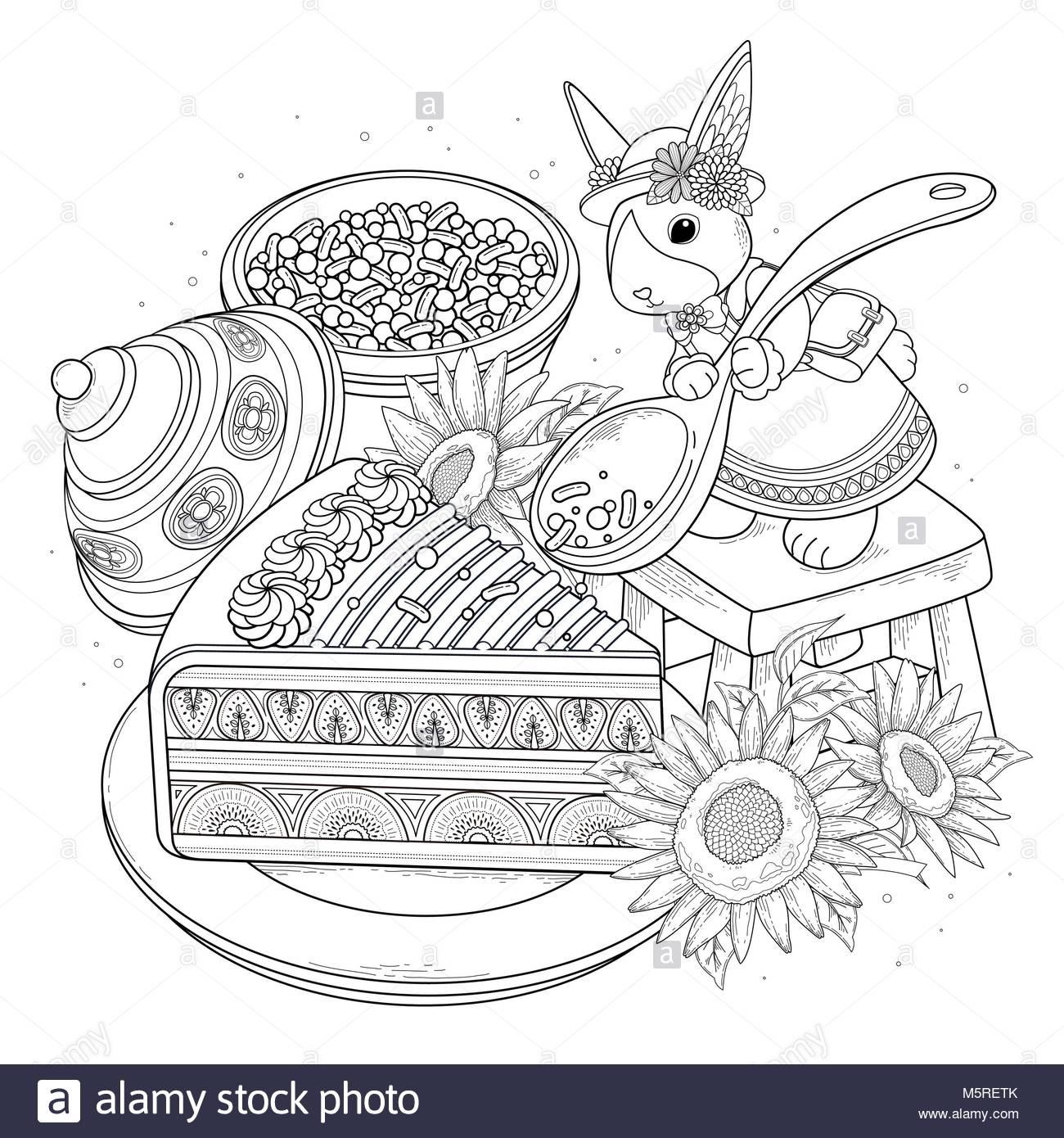 Pastas colorantes adulto página, deliciosos aperitivos página para ...